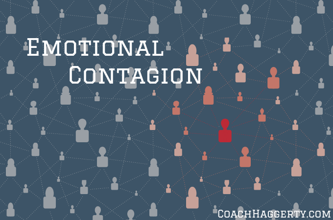 The best leaders have emotional contagion regardless of the circumstance or situation at hand. This philosophy can be used successfully at work and home. | @CoachHaggerty